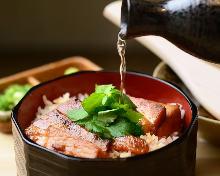 Kaisen chazuke(seafood and rice with tea)