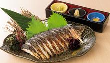 Seared mackerel
