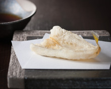Smelt-whiting tempura