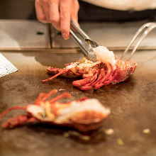 Spiny lobster (sashimi or seared)