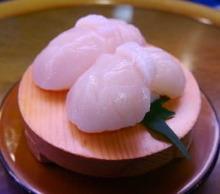 Edible shellfish adductor muscles