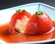 Simmered vegetable