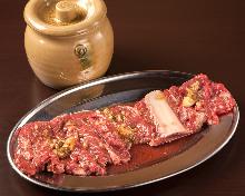 Beef kalbi marinated with yangnyeomjang