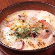 Seafood doria