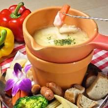 Cheese fondue sauce (extra)
