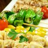 Grilled Vegetable Skewers (gingko nut/shiitake mushroom/eryngii mushroom/shishito pepper/small tomato)