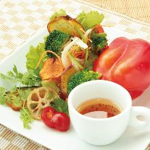 Paprika salad