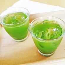 Shochu Mixed with Tea