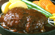 Wagyu hamburger steak