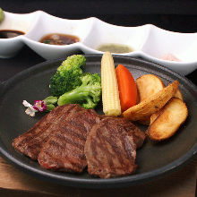 Wagyu beef round steak