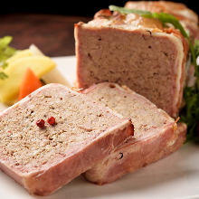 Pate de campagne (French country-style pate)