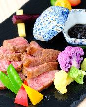 Wagyu beef top blade steak