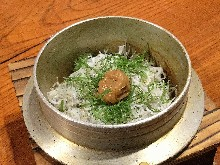 Kamameshi (pot rice)