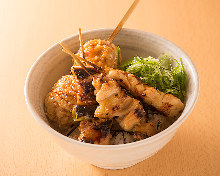 Grilled chicken rice bowl