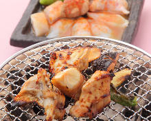 Grilled pufferfish