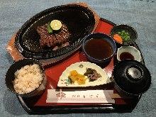 Steak set meal