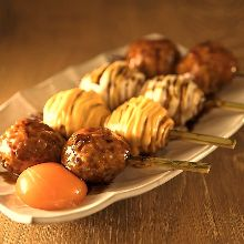 Meatballs with cheese