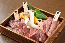 Assorted yakiniku, 3 kinds