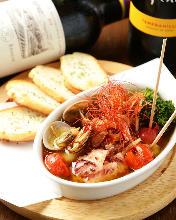 Seafood ajillo