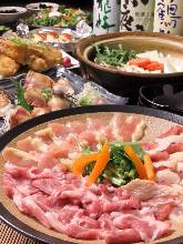 Shamo chicken sukiyaki