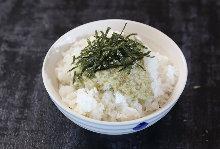 Tororo Meshi (grated yam rice)