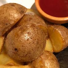 Fried potato from Hokkaido