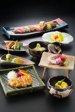 8,100 JPY Course (7 Items)