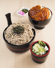 Chilled buckwheat noodles without broth