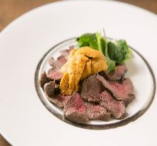 Wild game meat dishes