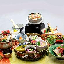 Kamameshi-zen (set menu)