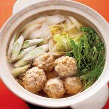 Chicken dumpling hot pot