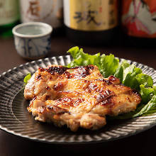 Grilled chicken with salted rice malt