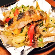 Fish Teppanyaki