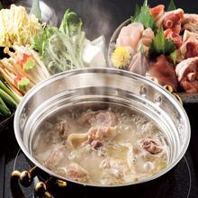 博多風地鶏と有機野菜の水炊き鍋