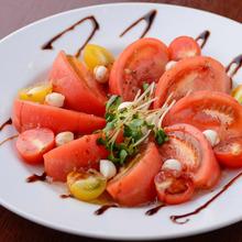 さっぱり冷やしトマト