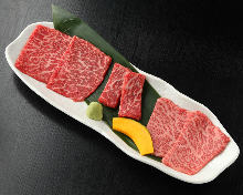 Assorted yakiniku (Red meat)
