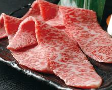 Wagyu beef sasami