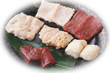 Assorted offal, 6 kinds