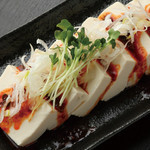 Spicy chilled tofu