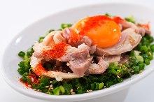 Offal sashimi with vinegar