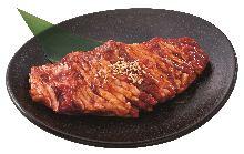 Beef kalbi (short ribs) steak