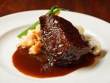 Beer-stewed beef