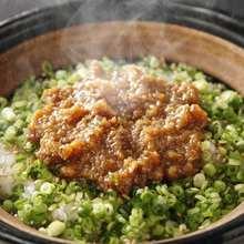 Kamataki Gohan (rice in a metal pot)