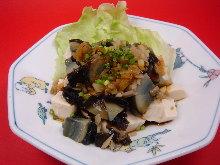 Green pepper tofu
