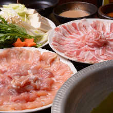 Chicken shabu-shabu