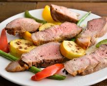 Pork loin steak