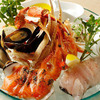 Assorted Seafood & Fresh Fish Grill Course