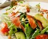 Caesar Salad with Avocado & Salmon