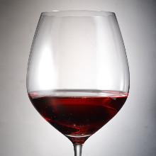 Red wine per glass