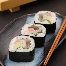 Futomaki sushi rolls